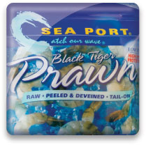 Sea Port Black Tiger Prawn