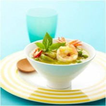 Green Curry with Shrimps (Gawng Kiew Wan Goong)