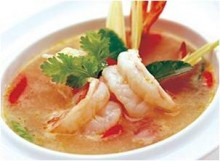 Spicy Prawn Soup [Tom Yum Kung]